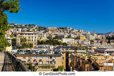 View of Genoa city - Italy, Liguria