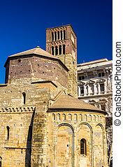 Santo Stefano church in Genoa - Italy