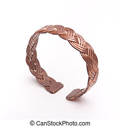 Copper Bracelet - Hand made copper bracelet made from tisted...