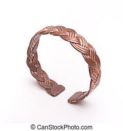 cobre, pulsera