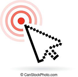 Response icon on white background