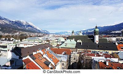 Viewpoints in Innsbruck - Viewpoints oldtown in Innsbruck