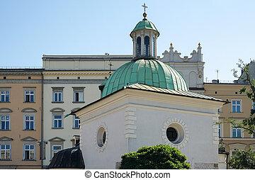 Church of St. Adalbert in Krakow