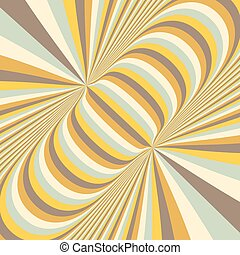 Abstract 3d geometrical background Pattern with optical...