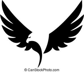 Eagle - silhouette Eagle