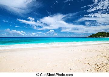 Beautiful Anse Intendance beach at Seychelles - Beautiful...