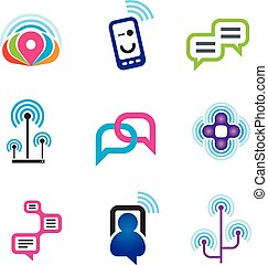 Social communication phone and internet network for world...