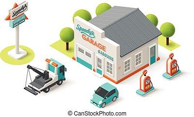 Vector Car Service