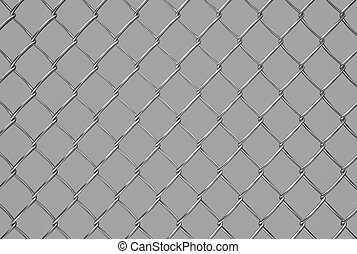 metallic  mesh on gray background, texture