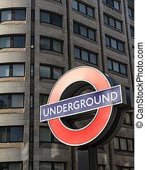 London Underground Tube Sign