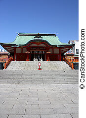 Hanazono Shrine in Shinjuku, Tokyo - Hanazono Shinto Shrine...