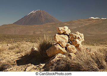 Hike to active volcano Misti, Arequipa, Peru