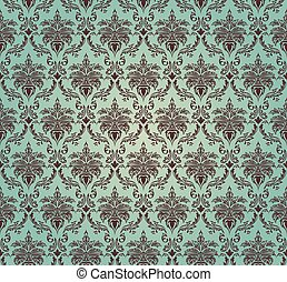 Damask seamless vector pattern For easy making seamless...