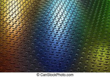 Diamond Plate Texture - Diamond plate texture and yellow...