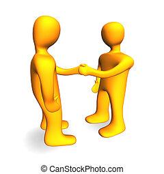 Handshake 3D