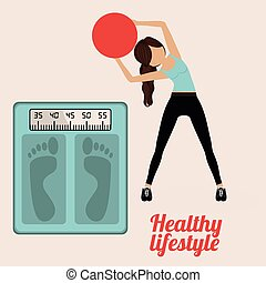 Healty Lifestyle design - Healthy lifestyle design over...
