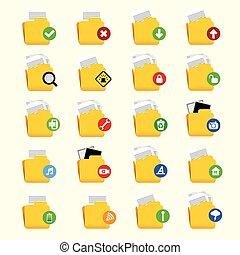 ScientistFolder Icon Set.