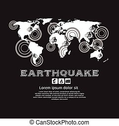 Earthquake - Earthquake Vector Illustration EPS10