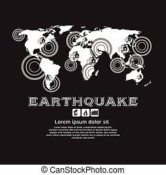 Earthquake. - Earthquake Vector Illustration EPS10