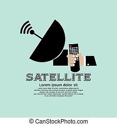 Satellite - Satellite Vector Illustration EPS10