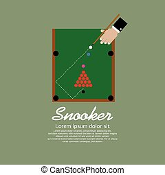 Snooker Playing.