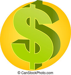 US Dollar Currency - United States Dollar Currency symbol...