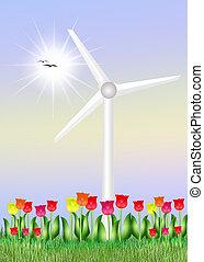 sustainable Development - illustration of sustainable...