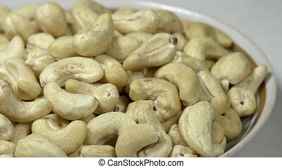 Cashew Nuts in a Bowl