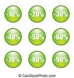 Retail sale price tags