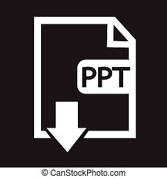 File type PPT icon