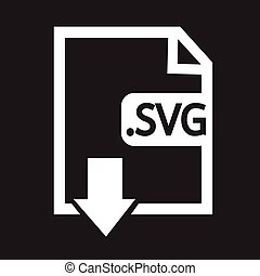 Formaat,  svg, beeld, bestand,  type, pictogram