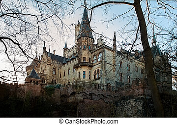 Castle Marienburg, Germany - beautiful romantic ancient...