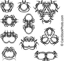 Tribal Tattoo Set