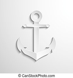 Anchor icon - vector web illustration, easy paste to any...