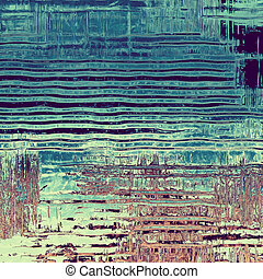 Vintage textured background. With different color patterns:...