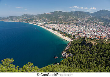 Alanya - the beach of Cleopatra Alanya is one of most...