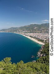 Alanya - the beach of Cleopatra . Alanya is one of most...