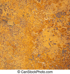 orange and red rusty steel