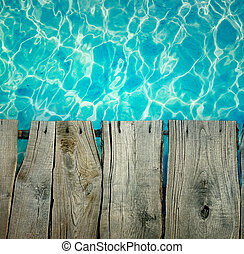 Summer holiday background - Summer background. Sea ripples...