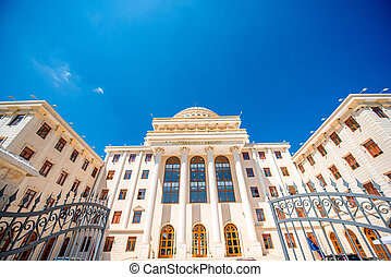 University building - A huge neoclassical university...