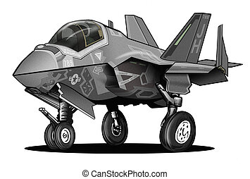 US Navy F-35C Lightning II JSF Jet - Cool, fun and sharp...