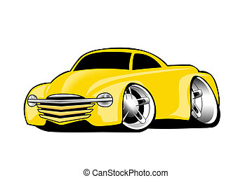 Modern American Yellow Pickup - Modern American Yellow...
