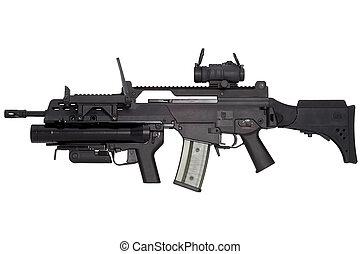 automático, arma, G36