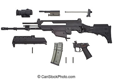 Automatic weapon G36 - Advanced automatic weapon G36 in...