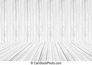 Wood wall and terrace texture Soft tone White color - Wood...
