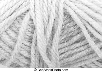 Cream yarn texture White color - Cream yarn texture...