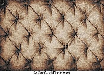 Marrom, sofá, dÈcor, tecido