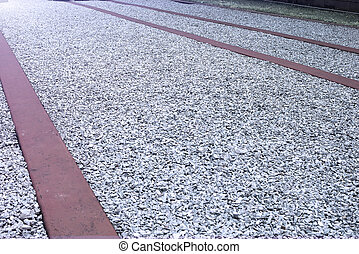 gravel ground texture