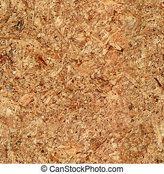 Seamless chipboard texture close-up