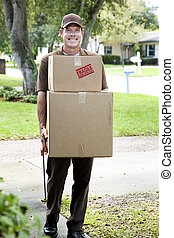 Friendly Home Delivery - Friendly delivery man or mover...